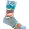 Pixie Stripe Crew Light Socks Sky