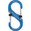Mousqueton en S SlideLock no 3 Bleu ombragé