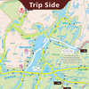 West French River Camping Map