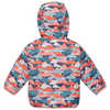 Cocoon Reversible Jacket Cloud Mountain Print