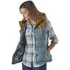 Bivy Hooded Vest Shadow Blue