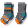 Sock Sampler Medium Grey Heather/Mediterranean H