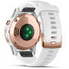 Fenix 5S Plus Sapphire with White Carrara Str Rose Gold/White