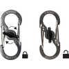 Porte-clés mousqueton SlideLock KeyRack Inox