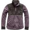 Mountain Sweatshirt 1/4 Snap Rabbit Grey/Graphite Grey