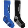 The Brave Twin Pack Ski Socks Nordic Blue/Castlerock