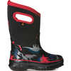 Classic Waterproof Insulated Boots Black Multi-Dinos