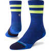 Cushion Run Crew Socks Uncommon Solids Crew Royal