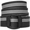 Elliptagon 30mm Belt Black Pinstripe