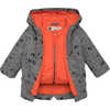 Mini Toaster Parka Falcon Grey Roaming Bear Print