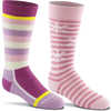 Snow Day 2-Pack Ski Socks Bubblegum Assorted