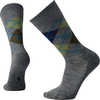 Diamond Slim Jim Crew Socks Deep Navy H/Medium Gray H
