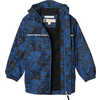 Aquanator Plus Jacket Blue Wash Print