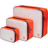 Pochettes Travel Light (paquet de 3) Lave/Océan profond/Gris givre