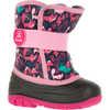 Snowbug 4 Boots Navy/Pink