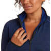 Mission Possible Zip Top Space Blue Heather
