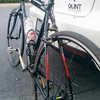 Autocollants pour cadre de vélo Argent/Jaune/Rouge