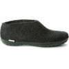 Chaussures The Shoe (semelle en caoutchouc) Noir