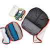 Travel Light Packing Cube 3-Pack Multisize Lava/Deep Ocean/Frost Grey