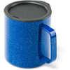 Tasse de camping en acier inoxydable Glacier Blue Speckle