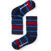 Chaussettes mi-mollet légères Merino Hike Stripe Ultramarin