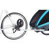 Remorque de vélo Coaster XT/Stroll Bleu