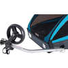 Coaster XT + Cycle/Stroll Trailer Blue
