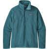 Better Sweater 1/4 Zip Tasmanian Teal