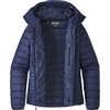 Manteau à capuchon Down Sweater Marine classique