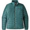 Manteau Down Sweater Sarcelle de Tasmanie