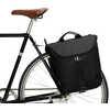 Sacoches de vélo Flash Tandem Noir de jais