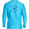 Rotor Long Sleeve Surf Shirt New Blue