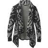 Alberta Reversible Sweater Black