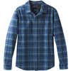 Brayden Long Sleeve Flannel Equinox Blue