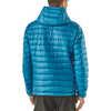 Manteau à capuchon Down Sweater Bleu balkanique