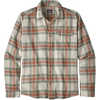 Fjord Lightweight Flannel Shirt Whyte: Celadon