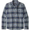 Fjord Lightweight Flannel Shirt Whyte: Stone Blue