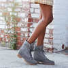 Jayne Fold Down Boots Medium Grey Nubuck
