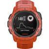 Instinct GPS Watch Flame Red
