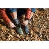 Liner Coolmax + Hiker Nuwool Crew Socks Charcoal + Heather Gray