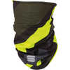 Cache-cou Thermal Noir/Anthracite/Jaune fluo