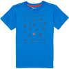 T-shirt Jaden Motif Activités plein air bleu éclatant