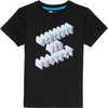T-shirt Jaden Motif Conserver et protéger noir