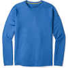 Merino 150 Baselayer Pattern Long Sleeve Bright Cobalt