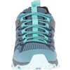 Moab FST II Waterproof Light Trail Shoes Blue Smoke