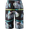 Honopu Sunproof Swim Shorts Black Fish