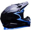 Zoka Cycling Helmet Grit/Gloss Black/Blue