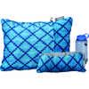 Compressible Medium Pillow Blue Heather