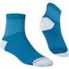 Ignite Synthetic Quarter Socks Aquatic Blue/Ciel