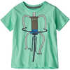 Baby Graphic Organic T-shirt Pedalin/Vjosa Green